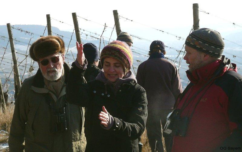 Exkursion in das Zippammer-Gebiet bei Retzbach/Ufr. Foto: R. Pfeifer