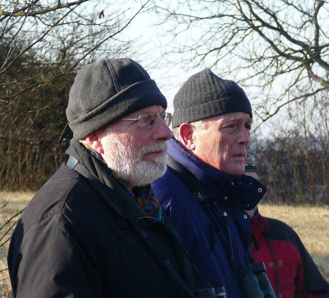 Dr. Einhard Bezzel und Manfred Siering