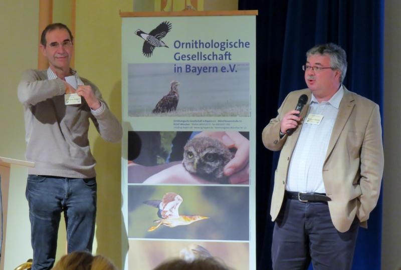 Dr. Karl Schulze-Hagen (links) und Robert Pfeifer (rechts)
