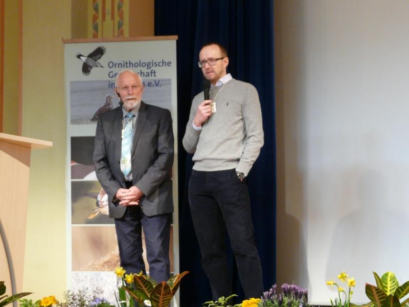 Eröffnungsrede durch Manfred Siering (links) und Dirk Tolkmitt (rechts)
