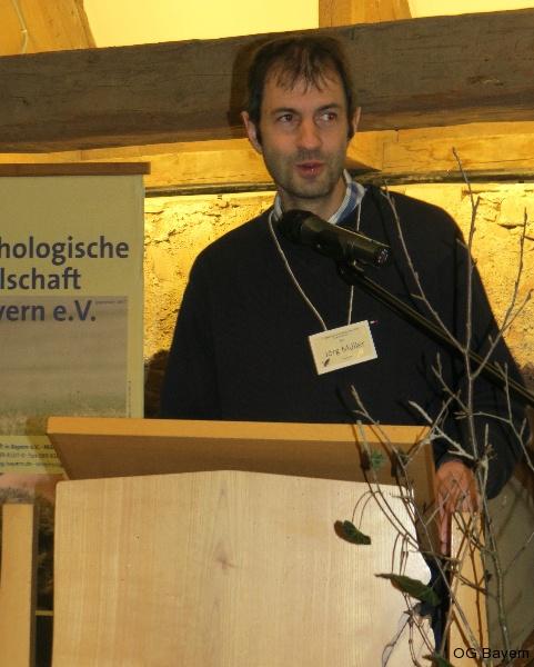 4. Bayerische Ornithologentage, Moderator PD Dr. Jörg Müller