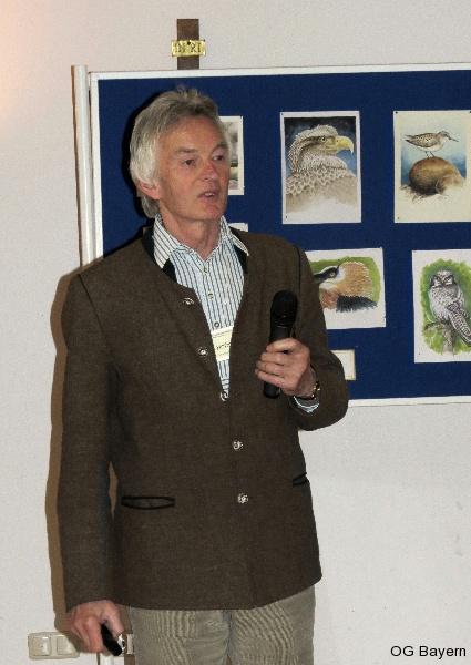 4. Bayerische Ornithologentage, Referent Erich Hofmann