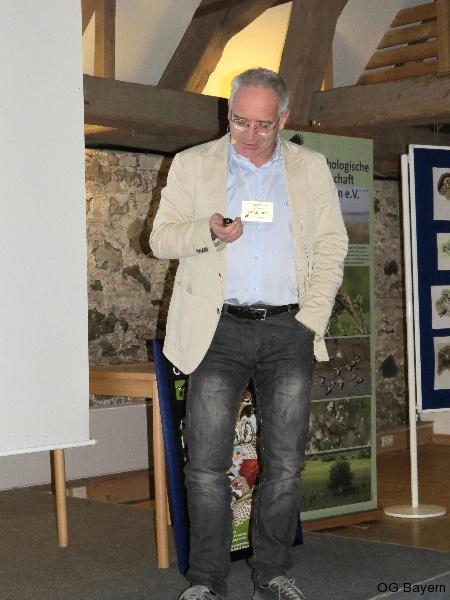 4. Bayerische Ornithologentage, Referent Dr. Armin Landmann