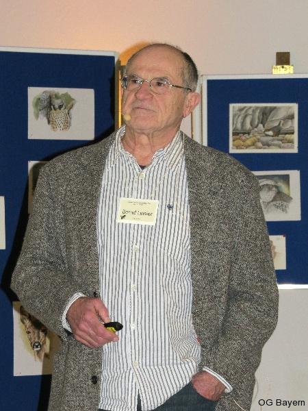 4. Bayerische Ornithologentage, Referent Dr. Bernd Leisler