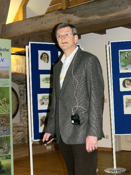 4. Bayerische Ornithologentage, Referent Prof. Dr. Peter H. Becker