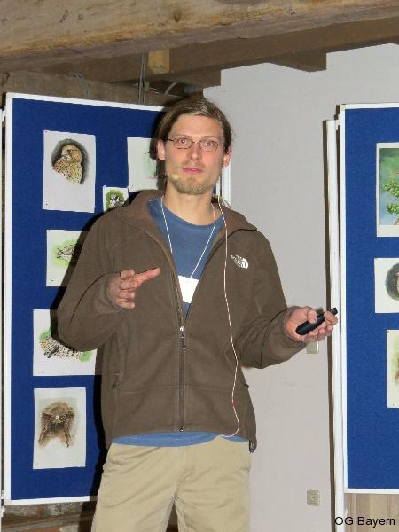 4. Bayerische Ornithologentage, Referent M.Sc. Andreas Schweiger