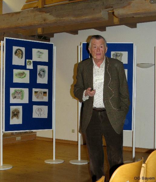 4. Bayerische Ornithologentage, Referent Dr. Einhard Bezzel