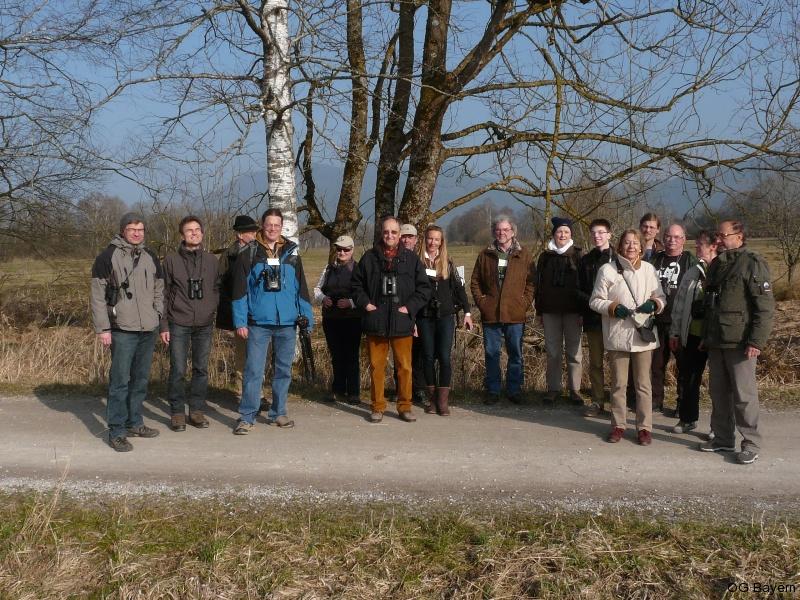 4. Bayerische Ornithologentage 2014 Exkursion zu Moorrenaturierung nahe Benediktbeuern