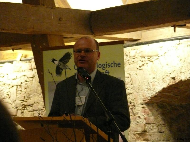 4. Bayerische Ornithologentage, Referent Dr. Norbert Schäffer