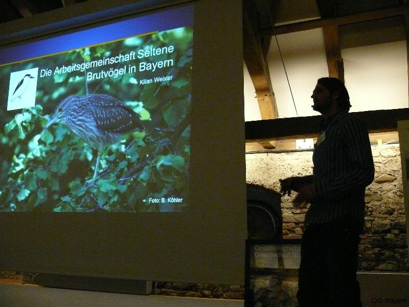 4. Bayerische Ornithologentage, Referent Dipl. Biologe Kilian Weixler
