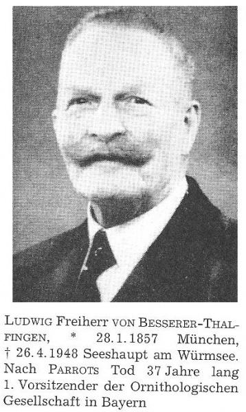 Ludwig Freiherr Besserer-Thalfingen