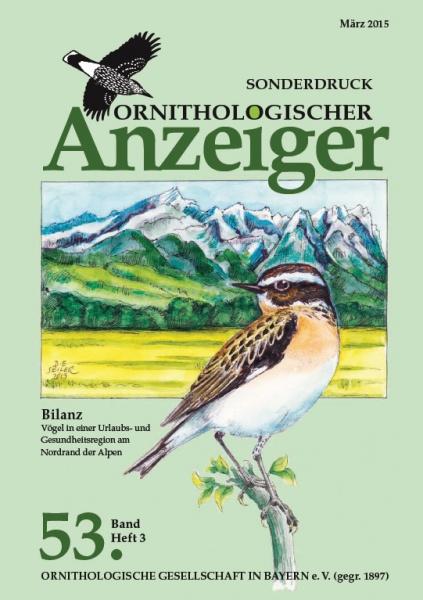 Sonderdruck aus dem Ornithologischen Anzeiger Band 53