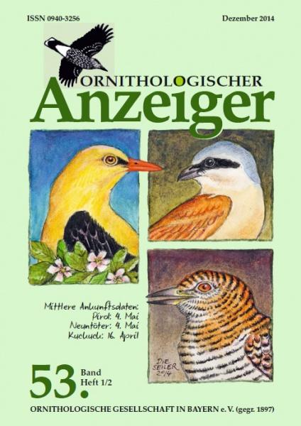 Ornithol. Anzeiger Band 53 Heft 1/2