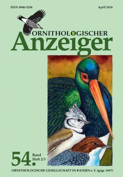 Ornithol. Anzeiger Band 54 Heft 2/3