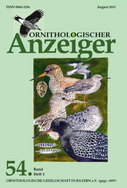 Ornithol. Anzeiger Band 54 Heft 1
