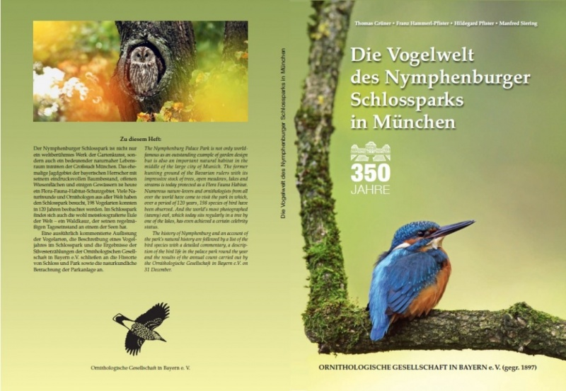 Sonderheft: 350 Jahre die Vogelwelt des Nymphenburger Schlossparks in München