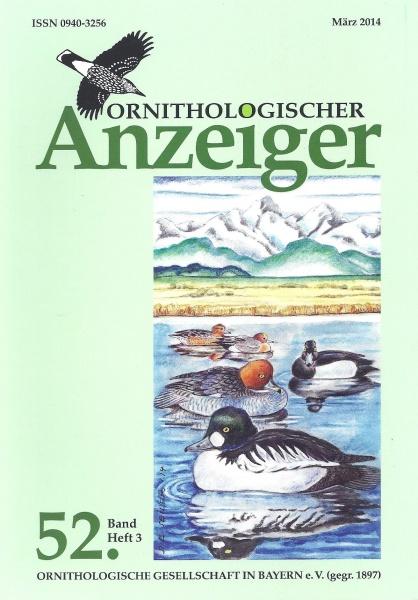 Ornithol. Anzeiger Band 52 Heft 3