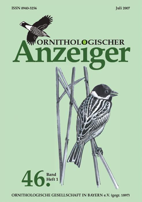 Ornithol. Anzeiger Band 46 2007 Heft 1