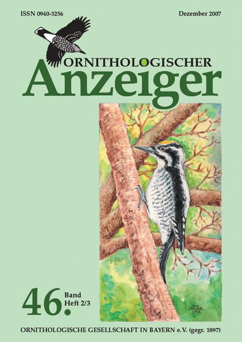Ornithol. Anzeiger Band 46 2007 (2/3)