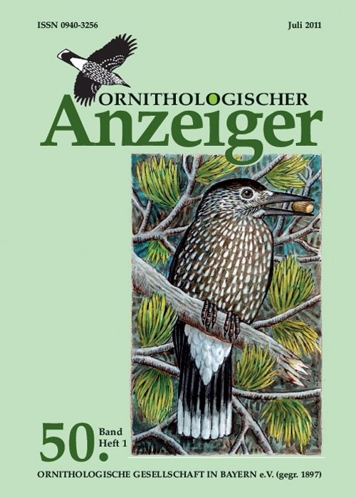 Ornithol. Anzeiger Band 50 1