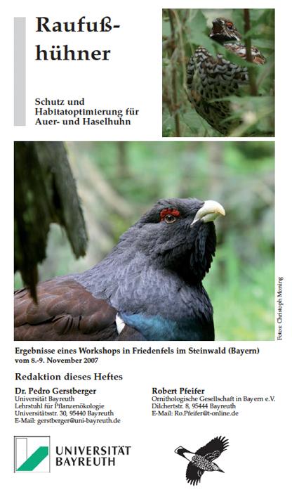 Ornithol. Anzeiger Raufusshühner