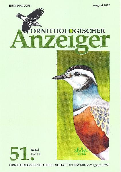 Ornithol. Anzeiger Band 51 Heft 1