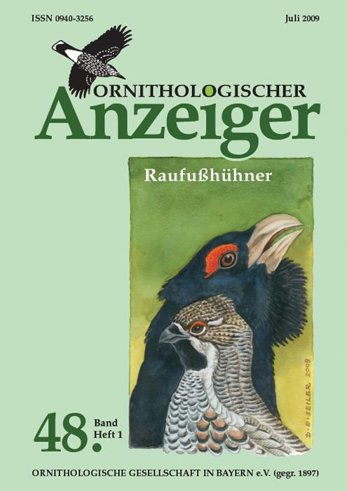 Ornithol. Anzeiger Band 48 (1)