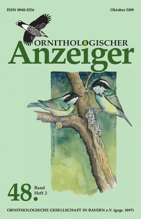 Ornithol. Anzeiger Band 48 (2)