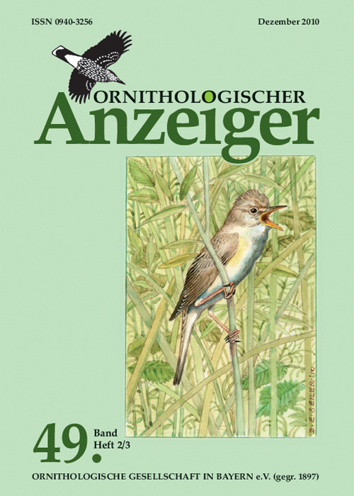 Ornithol. Anzeiger Band 49 (2/3)