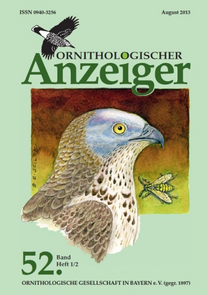 Ornithol. Anzeiger Band 52 Heft 1/2