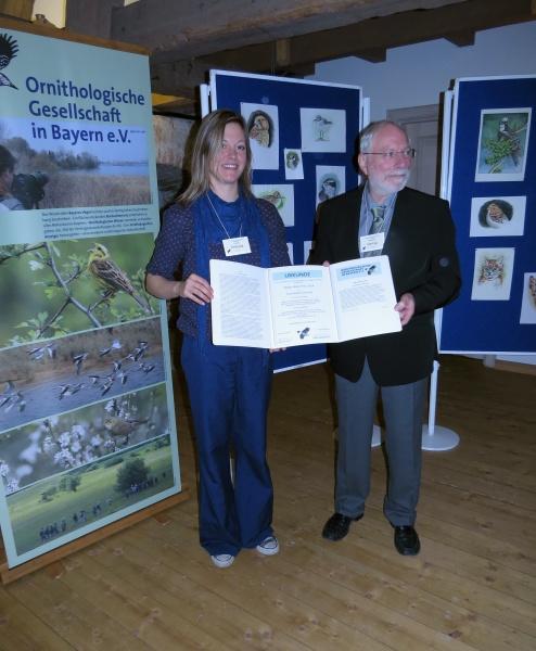 Verleihung des Walter-Wüst-Preis 2014 der Ornithologischen Gesellschaft in Bayern e.V. Gehrold